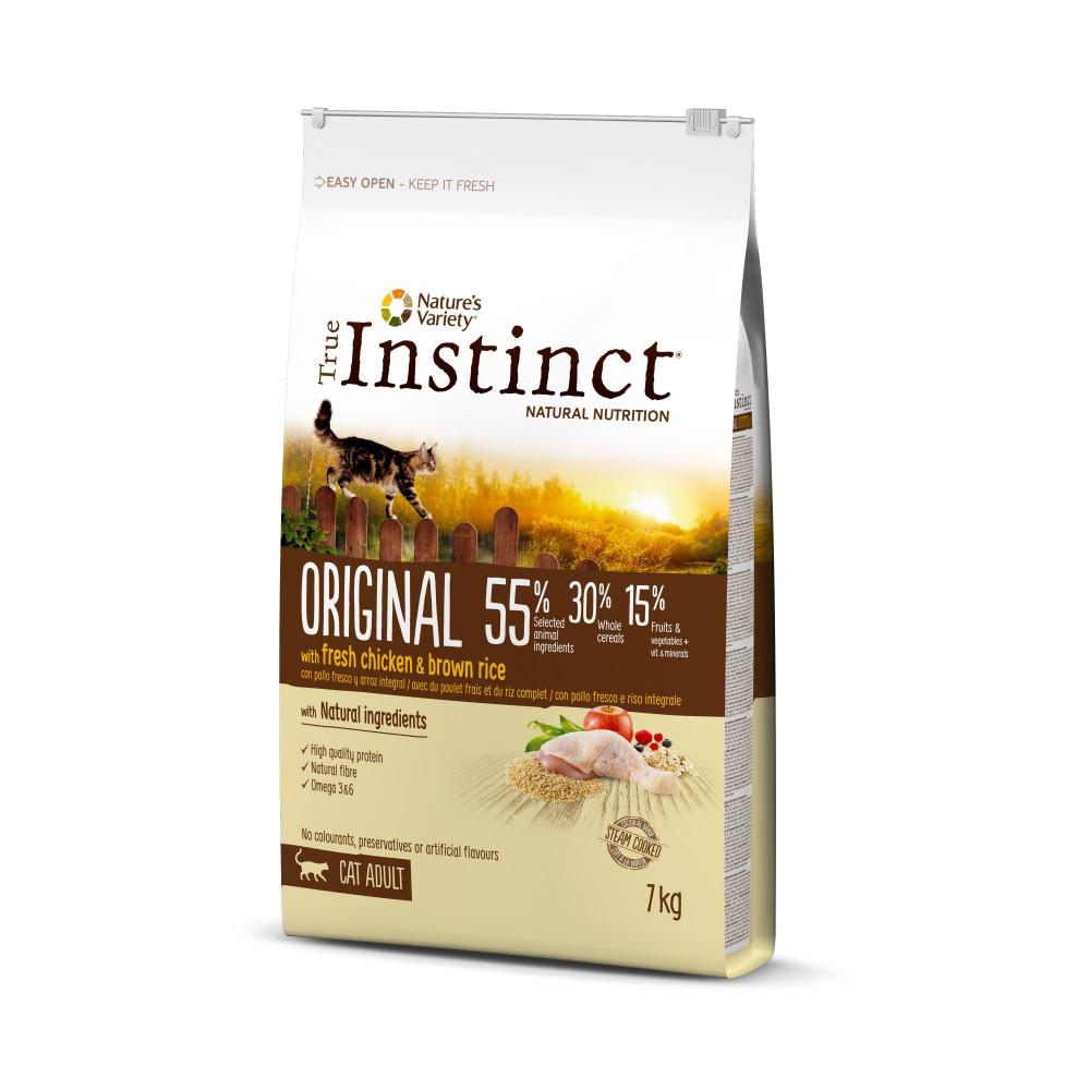 True Instinct Original Gato Adulto Chicken
