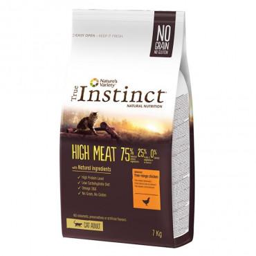 True Instinct High Meat Gato Adulto Chicken