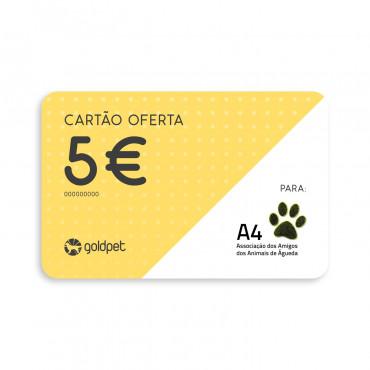 Cartão Oferta - Associação dos Amigos dos Animais de Águeda