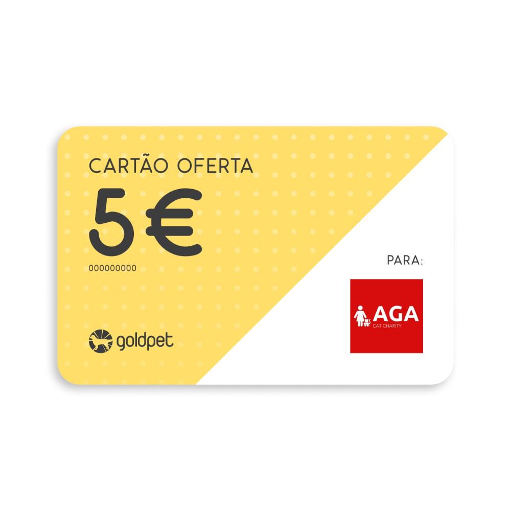 Cartão Oferta - AGA Amigos dos Gatos do Algarve