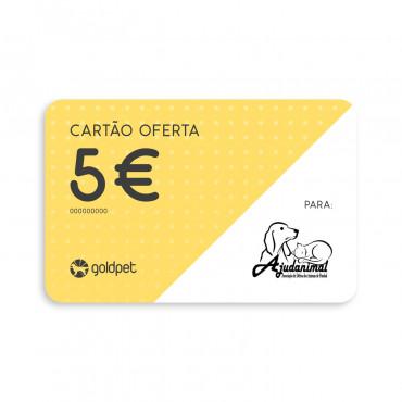 Cartão Oferta - Ajudanimal