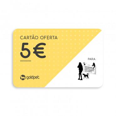Cartão Oferta - Sociedade Protetora dos Animais do Porto