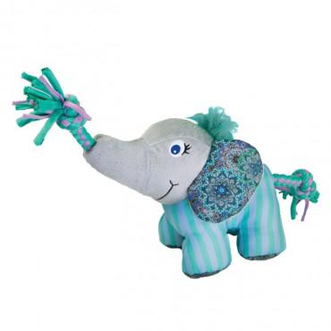 KONG Knots Carnival Elefante para cão