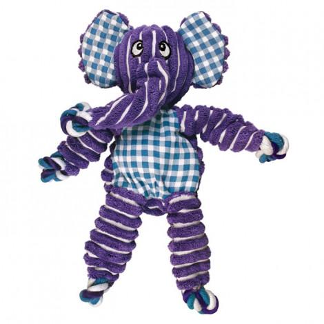 KONG Floppy Knots Elefante para cão