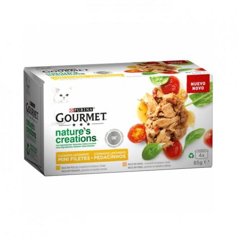 Gourmet Natures Creation's Gato Adulto Pack Frango e peru