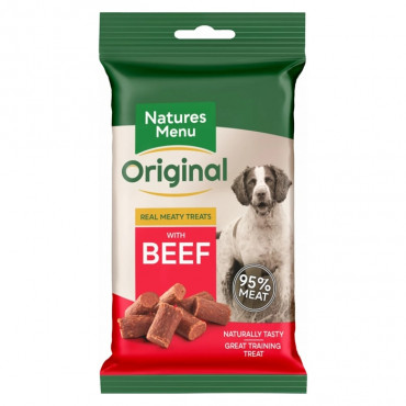 Natures Menu Snacks de Vaca para cão