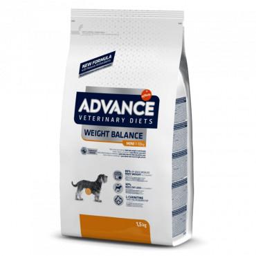 Advance Veterinary Diets Weight Balance Cão Mini Adulto