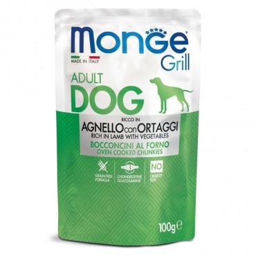 Monge Grill Cão Adulto Vaca