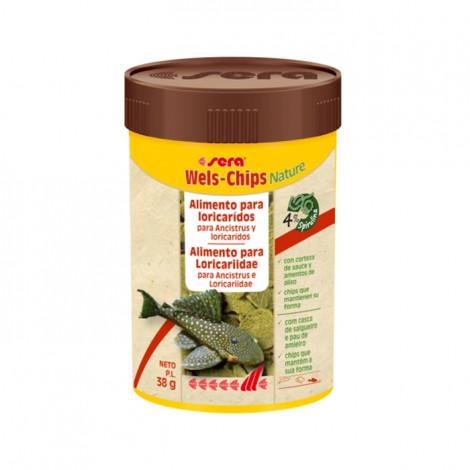 Alimento para peixes Sera - Wels Chips