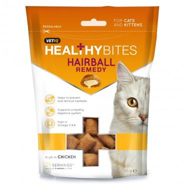 Healthybites Hairball Remedy - Biscoitos (VetIQ) 65gr