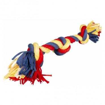 Duvo+ Corda colorida com 3 nós para cão