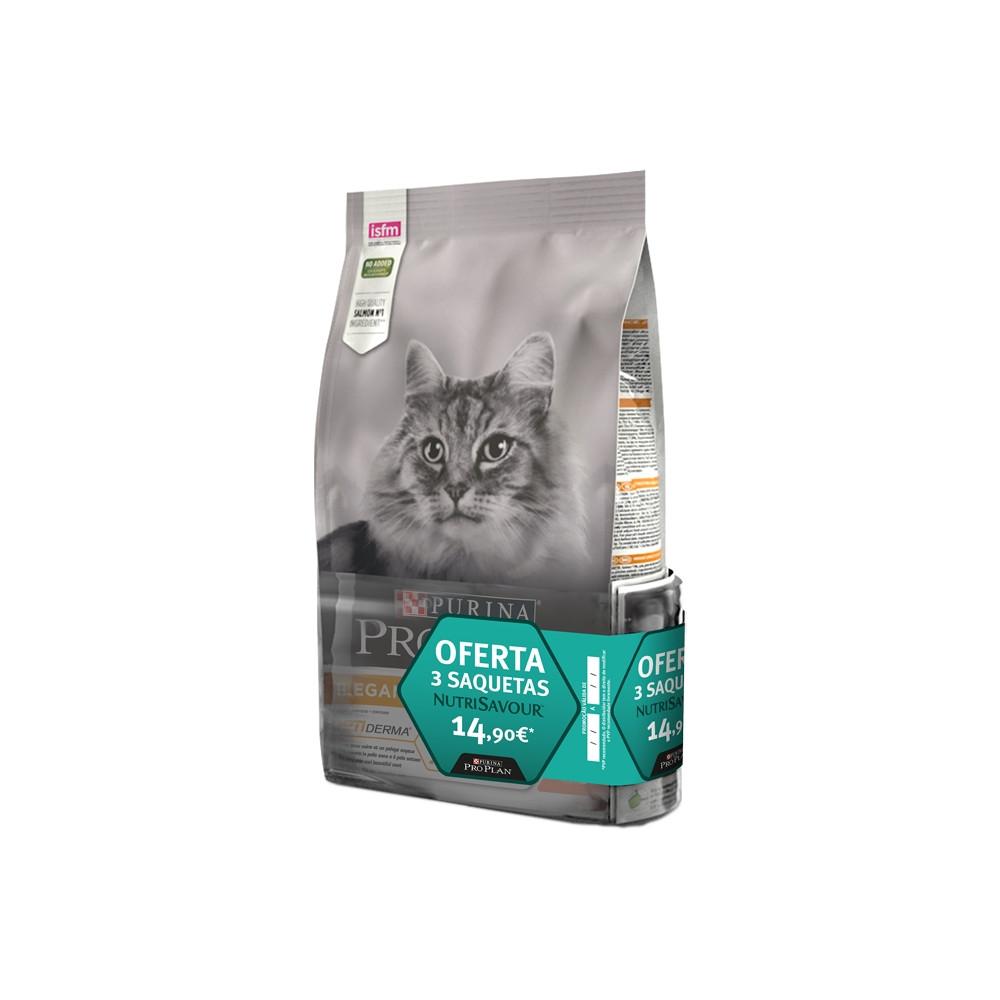 Pro Plan Elegant Gato Adulto Salmão 1,5kg + Oferta Saquetas