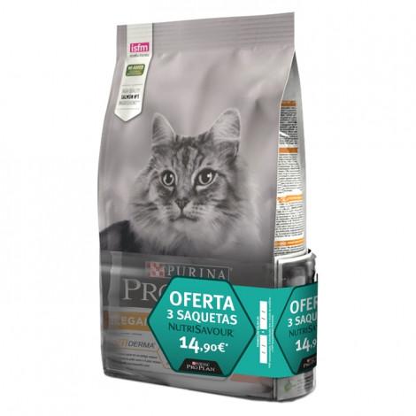 Pro Plan Elegant Gato Adulto Salmão 1,5kg + Saquetas