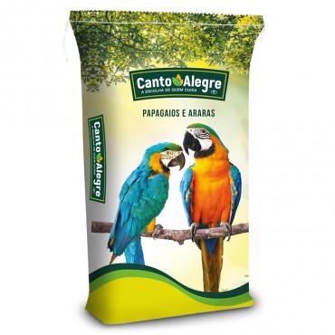 Mistura para Papagaios com fruta
