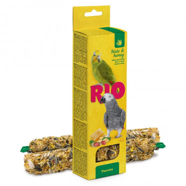 RIO Sticks Nozes e mel para papagaios