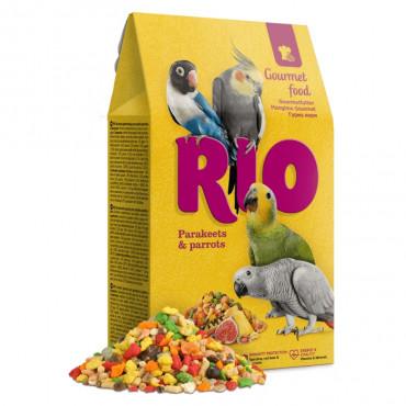 RIO Alimento Gourmet Periquitos e Papagaios