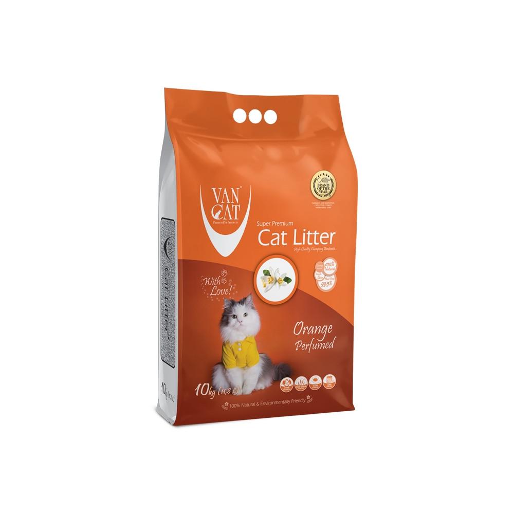 VAN CAT - Areia c/ Cheiro a Laranja 10kg