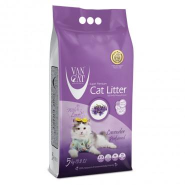 VanCat Areia de lavanda para gato
