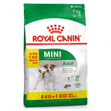 Royal Canin Mini Cão Adulto 8 kg + 1 kg OFERTA