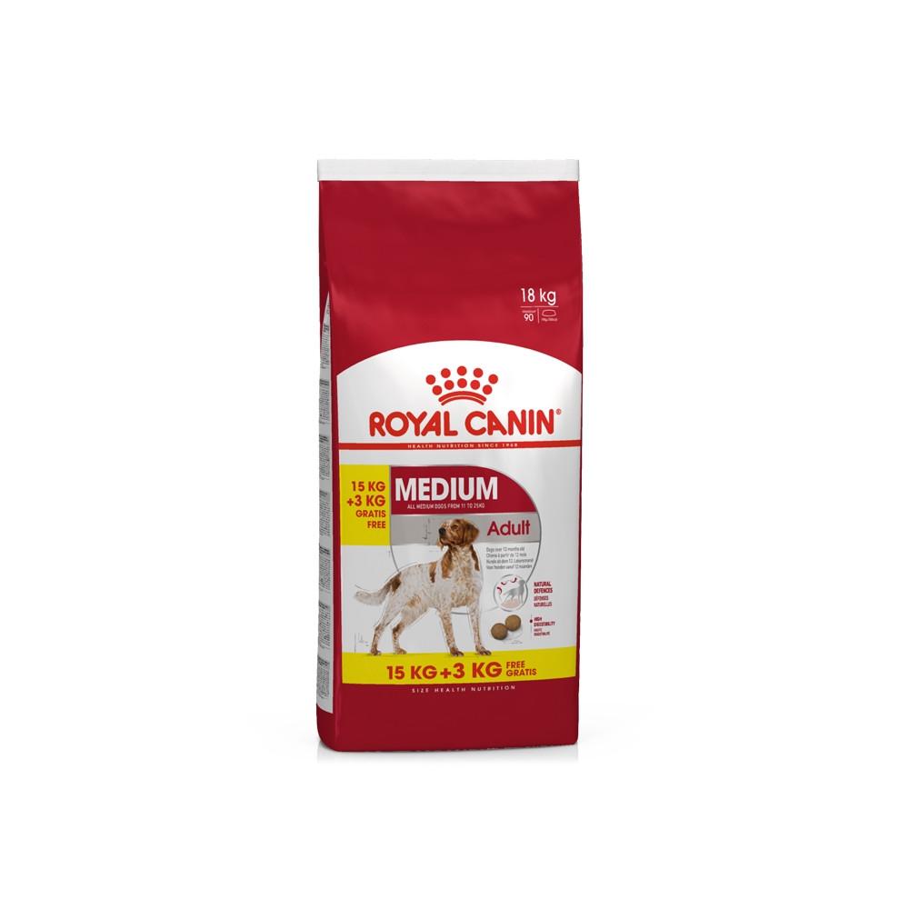 Royal Canin - Medium Adult 15Kg + 3Kg OFERTA - Goldpet