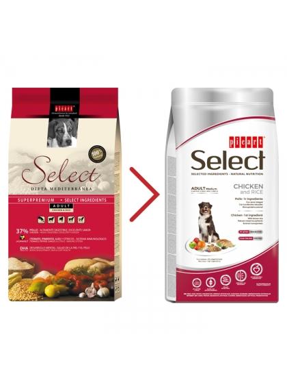 SELECT DOG Super Premium - Adulto Medium