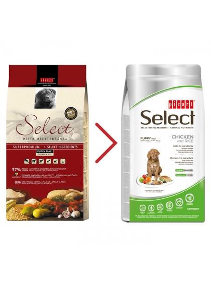 Picart Select Cão Puppy Maxi - Frango e arroz