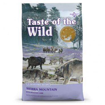 Taste of the Wild Sierra Mountain Cão