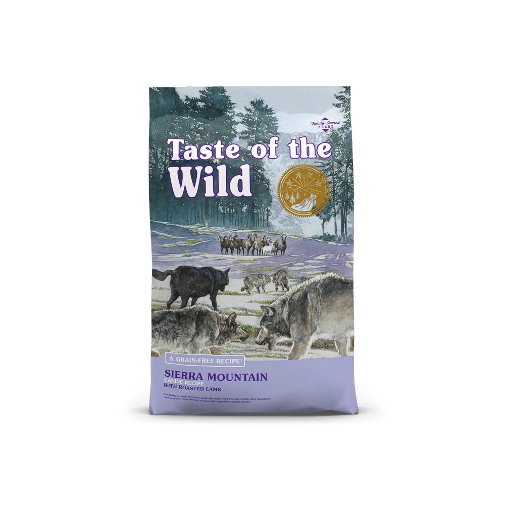 Taste of the Wild - Sierra Mountain Borrego