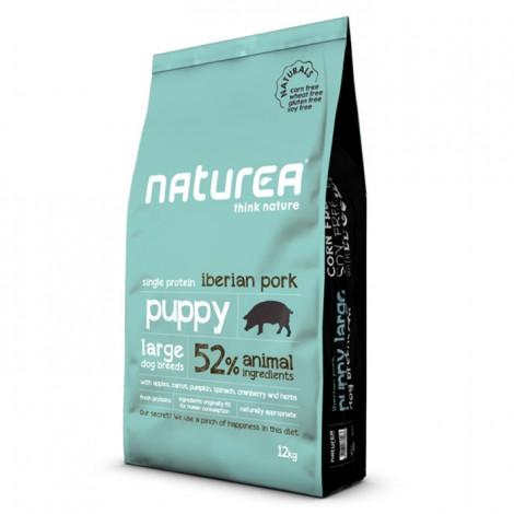 Naturea Naturals Cão Puppy Large Breed Iberian Pork