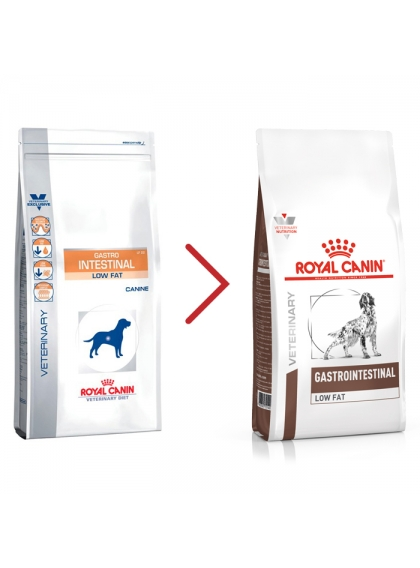 Royal Canin Gastrointestinal Low Fat Cão