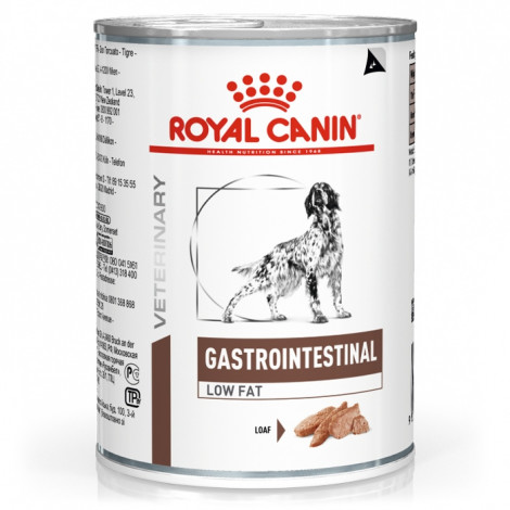 Royal Canin Gastrointestinal Low Fat Cão adulto - Em patê