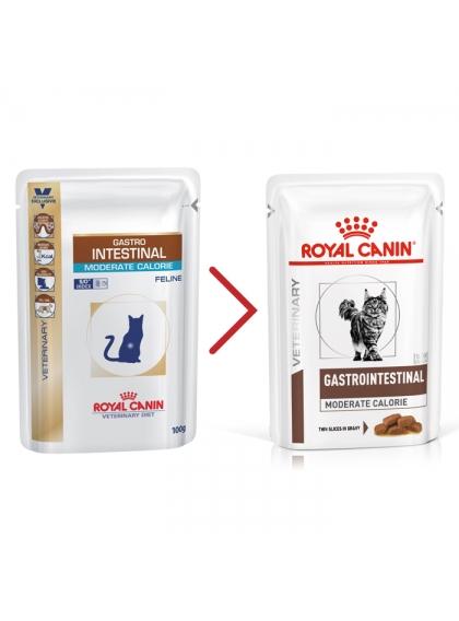 Royal Canin Gastrointestinal Moderate Calorie Gato adulto - Em molho