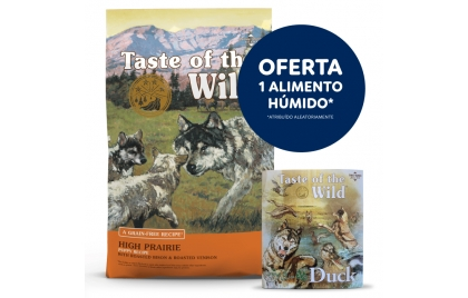 Taste of the Wild High Prairie Cão Puppy