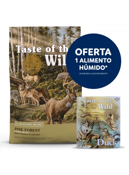 Taste of the Wild - Pine Forest Veado