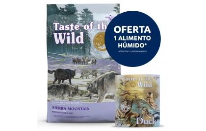 Taste of the Wild Sierra Mountain Cão Adulto