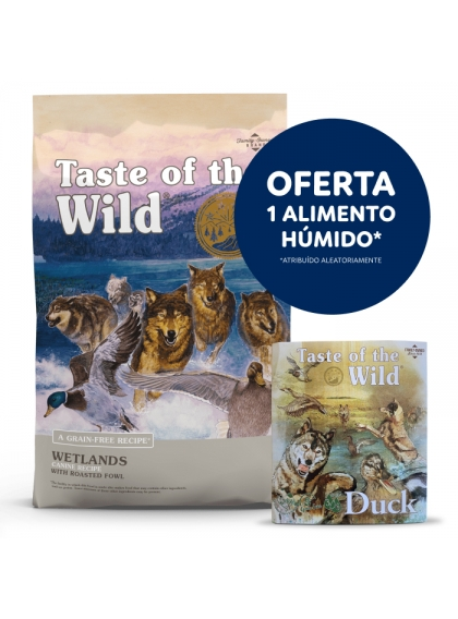 Taste of the Wild Wetlands Cão