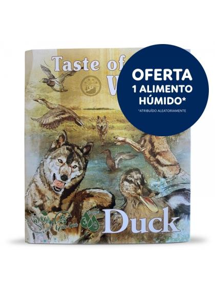 Taste of the Wild Pato e frango Cão Adulto Húmida