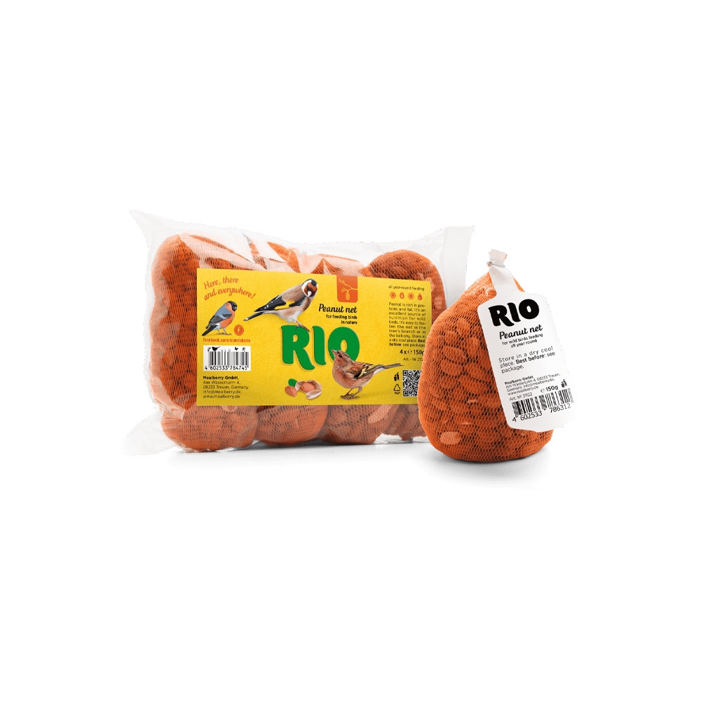 RIO Bolsa de amendoins