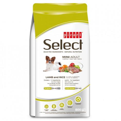 Picart Select Cão Mini Adulto - Cordeiro e arroz