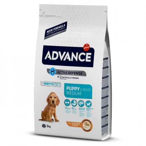 Advance Cão Puppy Medium - Frango e arroz