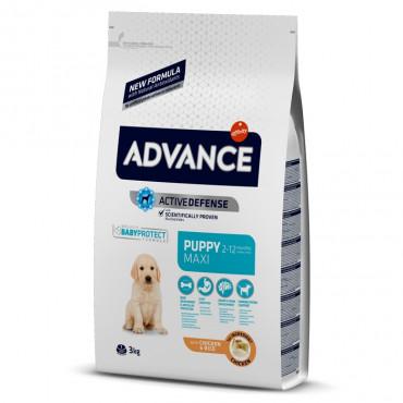 Advance Cão Puppy Maxi - Frango e arroz