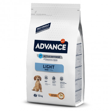 Advance Light Cão Mini Adulto - Frango e arroz