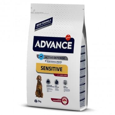 Advance Sensitive Cão Adulto - Borrego e arroz