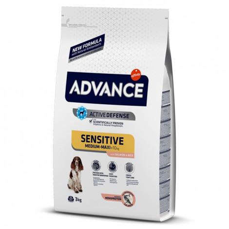 Advance Sensitive Cão Medium/Maxi Adulto - Salmão e arroz