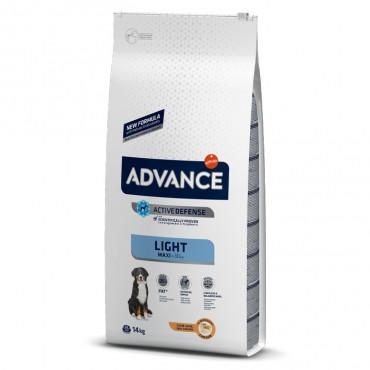 Advance Light Cão Maxi Adulto - Frango e arroz