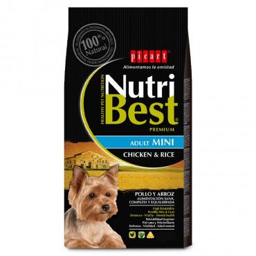 Picart Nutribest Cão Mini Adulto - Frango e arroz