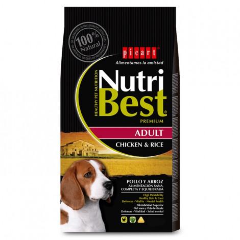 Picart Nutribest Cão Adulto - Frango e arroz