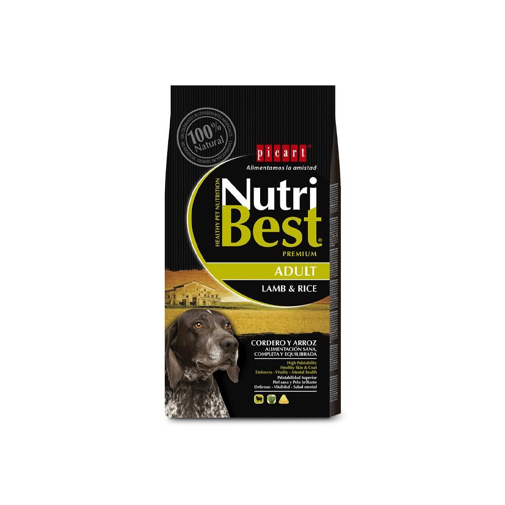 NUTRIBEST DOG Premium - Adulto Borrego & Arroz