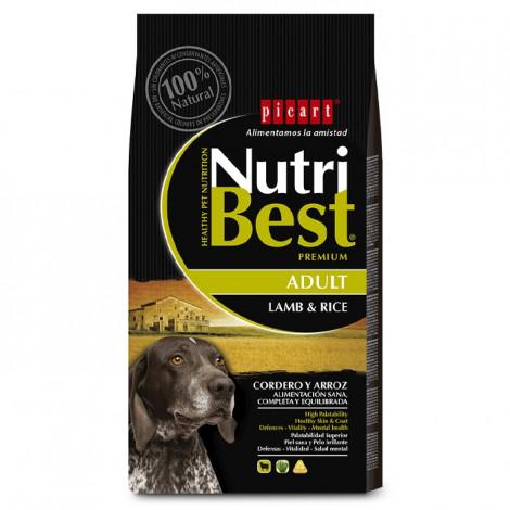 Picart Nutribest Cão Adulto - Cordeiro e arroz