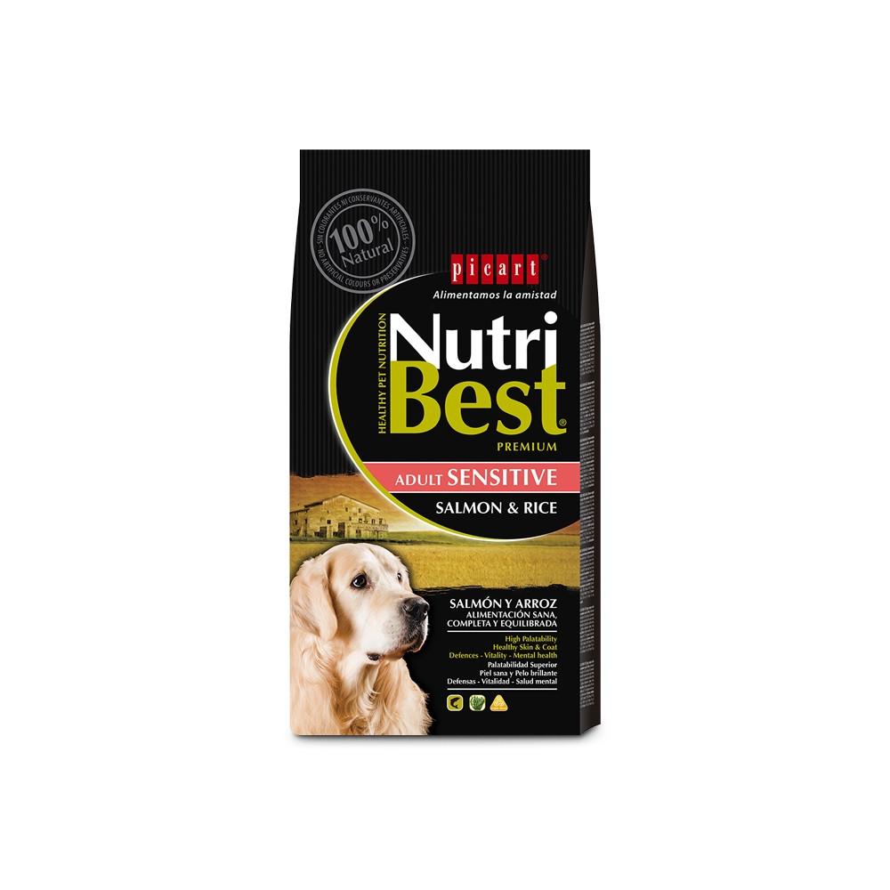 NUTRIBEST DOG Premium - Adulto Sensitive Salmão